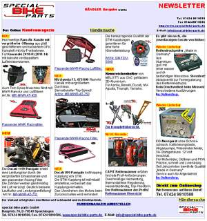 Newsletter special-bike-parts 3/2014