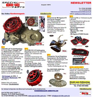 Newsletter special-bike-parts 1/2014